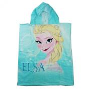Disney Frozen Elsa Poncho Hooded Towel