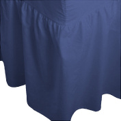 ARLINENS Plain Dyed Polycotton Fitted Valance Sheets in following Colours and Sizes