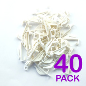 Curtain Hook Decorail - Pack of 40
