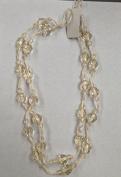 Twinkle Beaded Curtain Tie Backs Bead Cream Crystal