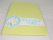 Snuggle Baby Yellow (Lemon) Fitted Cot Bed Sheet