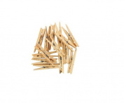 36 X Supahome Deluxe Wooden Clothes Peg 90mm In Length Hardwood 7 Coil Spring