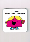 Little Miss Chatterbox Coaster, Little Miss and Mr Men Coaster,
