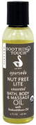 Soothing Touch - Ayurveda Organic Bath, Body & Massage Oil Nut Free Lite Unscented - 120ml