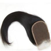 LaNova Beauty Brazilian Human Hair,Size:30cm ,Lace Closure Sliky Striaght,Natural Colour,1pc/lot,40g/pc,Hair Extensions for Cheap
