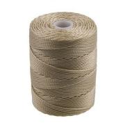 C-Lon Bead Cord, Flax