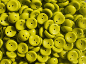 30pcs Piggy -Czech Glass Two-holes Pressed Beads, Dome-shaped 4x8 mm Green Opaque
