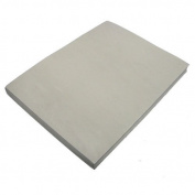 Grey Fun Foam Sheet 23cm X 30cm X 0.2cm Thick