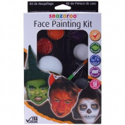 Halloween Face Painting Palette Kit