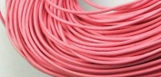 5 Metres 2mm Pink Round Geniune Leather Cord Jewellery Good for DIY Ideas