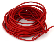 10 Metres 2mm Red Round Geniune Leather Cord Jewellery Good for DIY Ideas