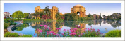 San Francisco Palace of Fine Arts Panorama Art Print Poster | New Release 2015
