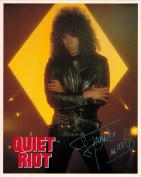Quiet Riot Frankie Banali Portrait Vintage 80s 20cm x 25cm Photograph