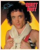 Quiet Riot Kevin DuBrow Portrait Vintage 80s 20cm x 25cm Photograph