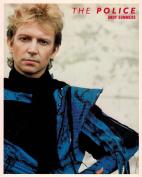 The Police Andy Summers Portrait Vintage 80s 20cm x 25cm Photograph