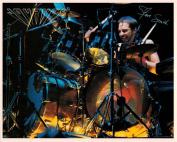 Journey Steve Smith with Drums Portrait Vintage 80s 20cm x 25cm Photograph