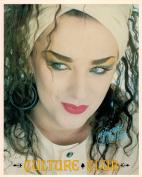 Boy George Culture Club RAD Face Shot Portrait Vintage 80s 20cm x 25cm Photograph