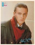 Duran Duran Andy Taylor Portrait Vintage 80s 20cm x 25cm Photograph