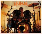 Rick Allen Def Leppard Drummer Portrait Vintage 80s 20cm x 25cm Photograph