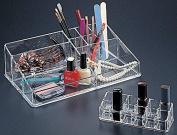 Two Piece Acrylic Cosmetic Organiser