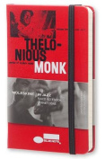 Moleskine Bluenote Limited Edition Notebook, Pocket, Ruled, Red, Hard Cover