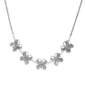 Van Kempen Art Nouveau Butterfly Necklace in Sterling Silver