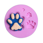 Cat Bear Paw Silicone Fondant Mould Chocolate Polymer Clay Mould