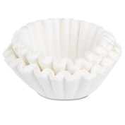 BUNN-O-MATIC BCF100B Coffee Filters, 10/12-Cup Size, 100/Pack