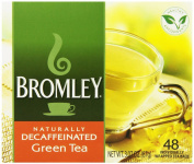 Bromley Naturally Decaffeinated Green Tea 48 ct