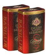 "Basilur Specialty Classics Collection ""English Breakfast"" 100% Pure Ceylon Black Tea, 100g Loose Leaf per Tin"