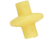 Pine Ridge Archery Slide-On Kisser Button (Pack of 1), Yellow