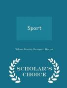 Sport - Scholar's Choice Edition