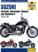 Suzuki Intruder, Marauder, Volusia & Boulevard Motorcycle Repair Manual