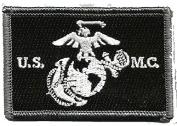 USMC Tactical Patch - Black & White