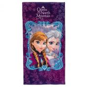 Disney Frozen Anna & Elsa Queen of the North Mountain Towel