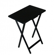 Black Tv Tray Folding Table Patio Dining Table Folding Small Wooden Folding Table Compact Patio Dining Table Folding