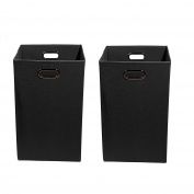Modern Littles Smarty Pants Organisation Bundle-2 Laundry Bins, Black