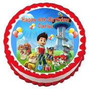 Paw Patrol Edible Frosting Sheet Cake Topper - 19cm Round