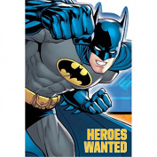 DesignWare Batman Invitation, Multicolor