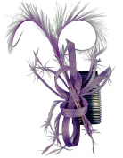 Hawkins Collection Fascinator with Twisted Biots