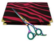 Professional Hairdressing Scissors Hair Cutting Shears Barber Salon Styling Scissors 15cm Japanese Steel Titanium RAZOR EDGED