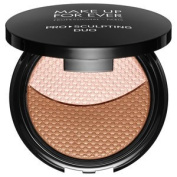 MAKE UP FOR EVER Pro Sculpting Duo Colour:1 Pink Beige - for fair to medium skin