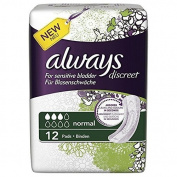 Always Discreet Normal Incontinence Pads - Pack of 36