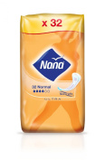 Nana Ultra Normal - Sanitary Towels - 3 Packs of 32 Each