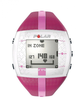 POLAR FT4 Heart Rate Monitor Watch [Colour - purple]