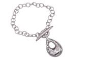 Orphelia 19 cm 925 Sterling Silver Ladies Bracelet with Zircons T-Decoy ZA-1902