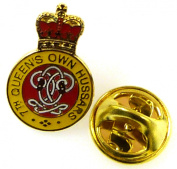 7th Queens Own Hussars Lapel Pin Badge