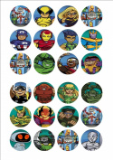 24 x Superhero Squad Cake Toppers
