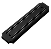 FunkyBuys® BLACK Kitchen WIDE Magnetic Knife Holder Rack w/ Fixings Storage Best Deal. Amazon