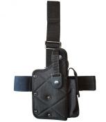 Leg holster (nylon black) No.126-BK